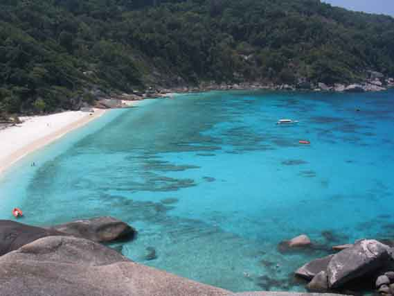 Similan Islands, Südthailand